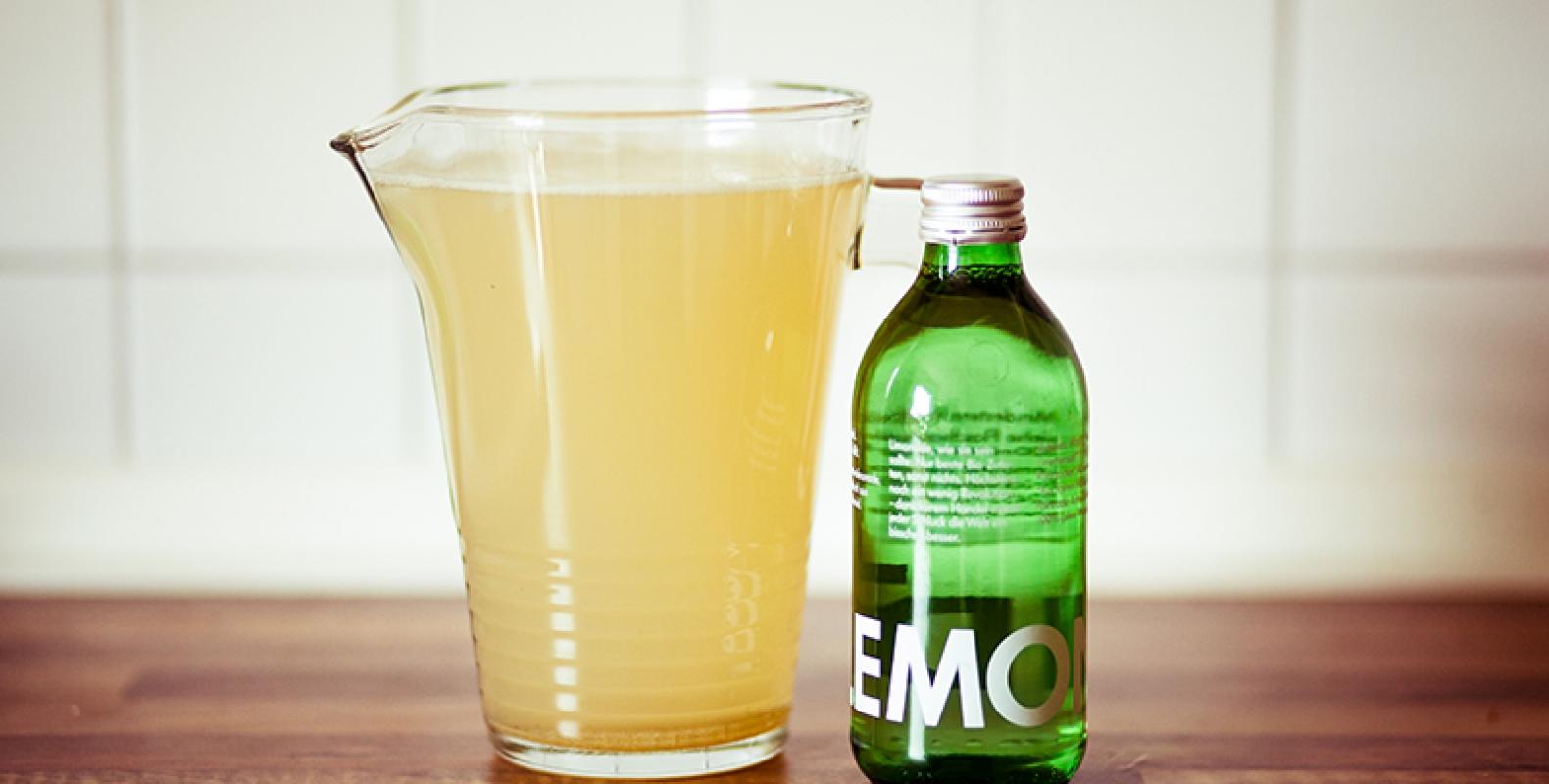 Neues aus der Küche // Schnelle Homemade Limonade