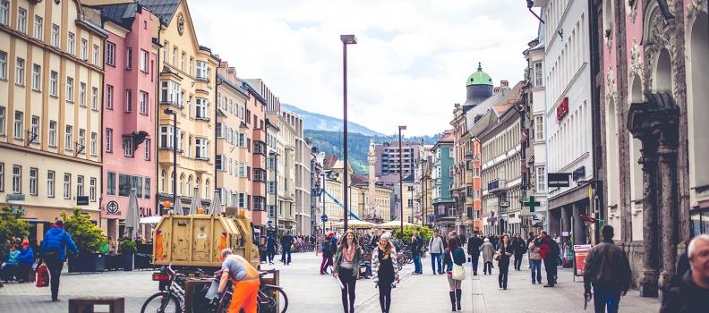 Ausflug nach Innsbruck