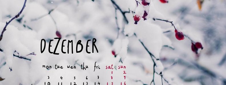 WALLPAPER // Dezember 2012