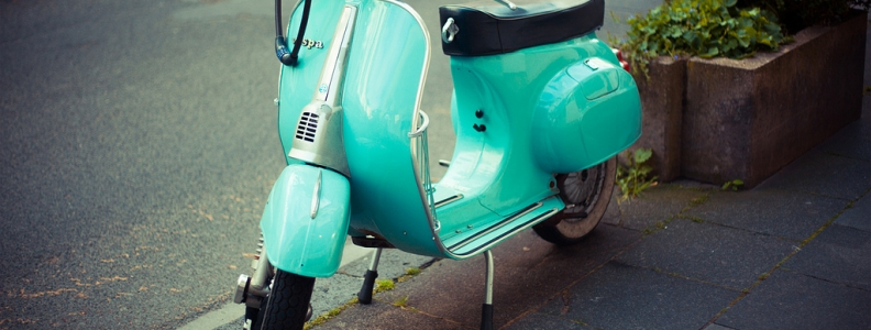 In Love with a Vespa